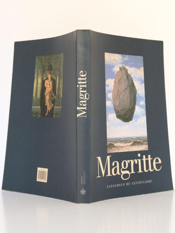 Magritte 1898-1967 Catalogue du centenaire. Ludion / Flammarion 1998. Couverture : plats et dos.