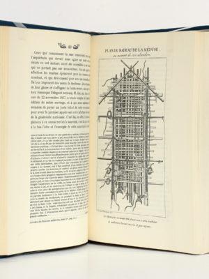Relation complète du naufrage de la frégate La Méduse. Chez Jean de Bonnot, 1968. Pages intérieures.