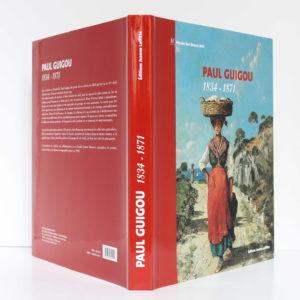 Paul Guigou, 1834-1871. Catalogue de l'exposition rétrospective, Paris-Marseille 2004-2005. Jaquette.