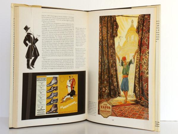 Le Roman du Printemps, Jean-Paul CARACALLA. Éditions Denoël, 1989. Pages intérieures.