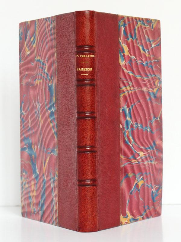 Sagesse, Paul VERLAINE. Albert Messein Éditeur, 1914. Reliure : dos et plats.