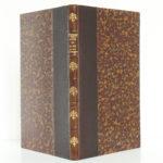 Souvenirs sur les Croix de bois, Roland DORGELÈS. À la Cité des Livres, 1929. Reliure : dos et plats.