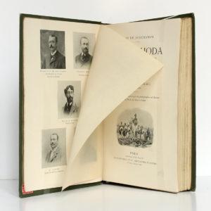 Vers Fachoda, Charles Michel. Plon-Nourrit, 1900. Frontispice.