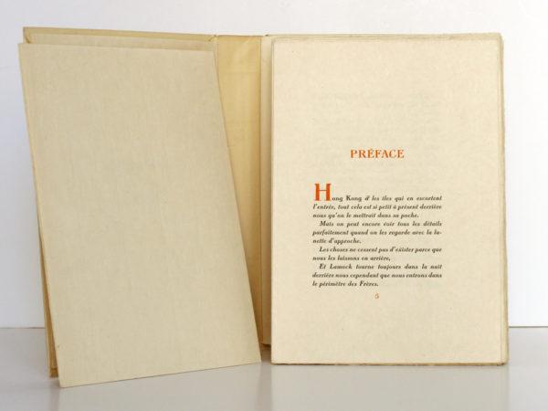 Connaissance de l'Est, Paul CLAUDEL. Typographie de Léon Pichon, 1928. Pages intérieures 1.