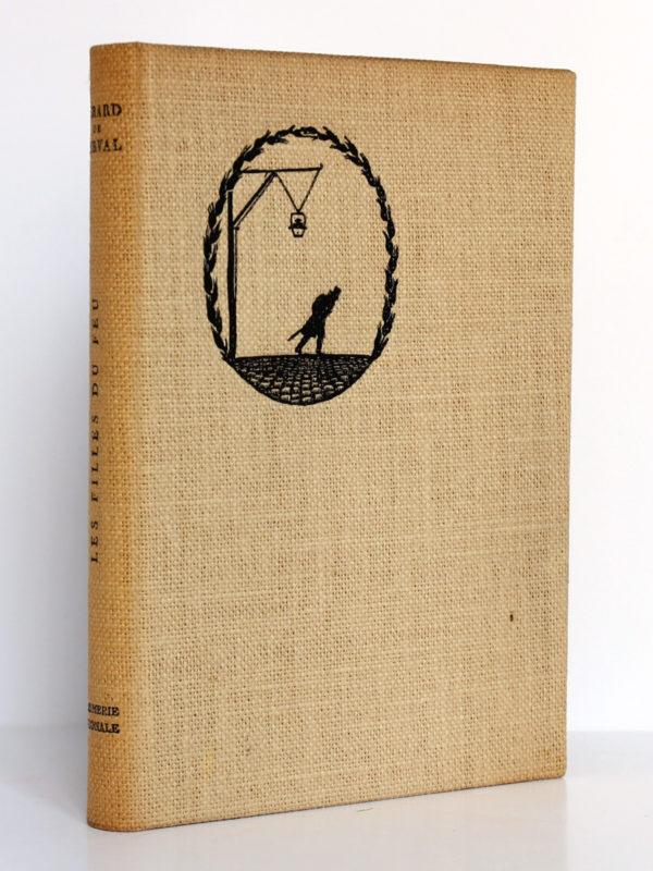 Les Filles du feu, Gérard de NERVAL. Bois gravés de RENAUD. Imprimerie Nationale, 1958. Couverture.