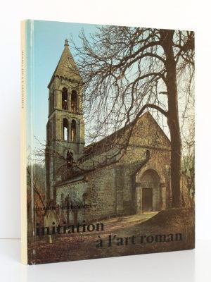 Initiation à l'art roman, Françoise Leriche-Andrieu. Zodiaque, 1984. Couverture.