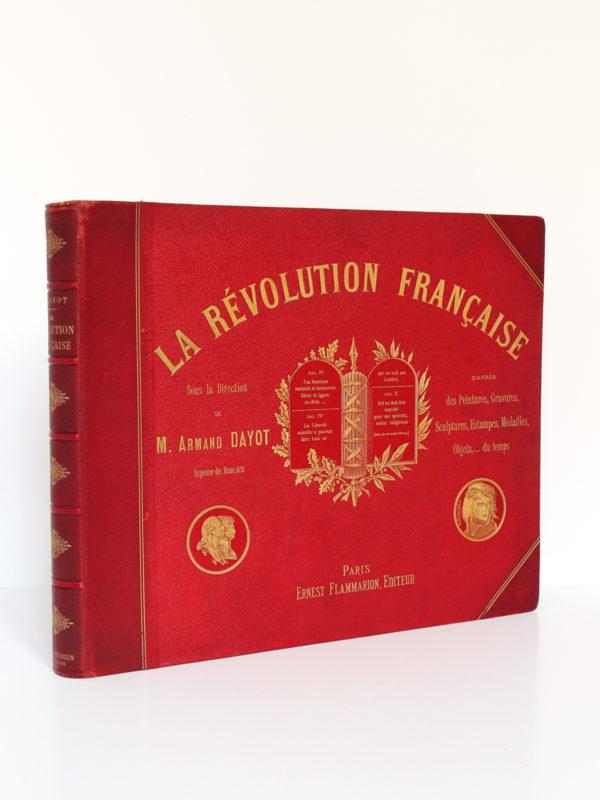 La Révolution française, Armand Dayot. Flammarion, sans date [1896]. Couverture.