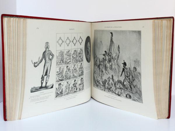 La Révolution française, Armand Dayot. Flammarion, sans date [1896]. Pages intérieures 2.