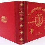 La Révolution française, Armand Dayot. Flammarion, sans date [1896]. Reliure : dos et plats.