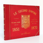 Le Second Empire (1851-1870), Armand Dayot. Flammarion, sans date. Couverture.