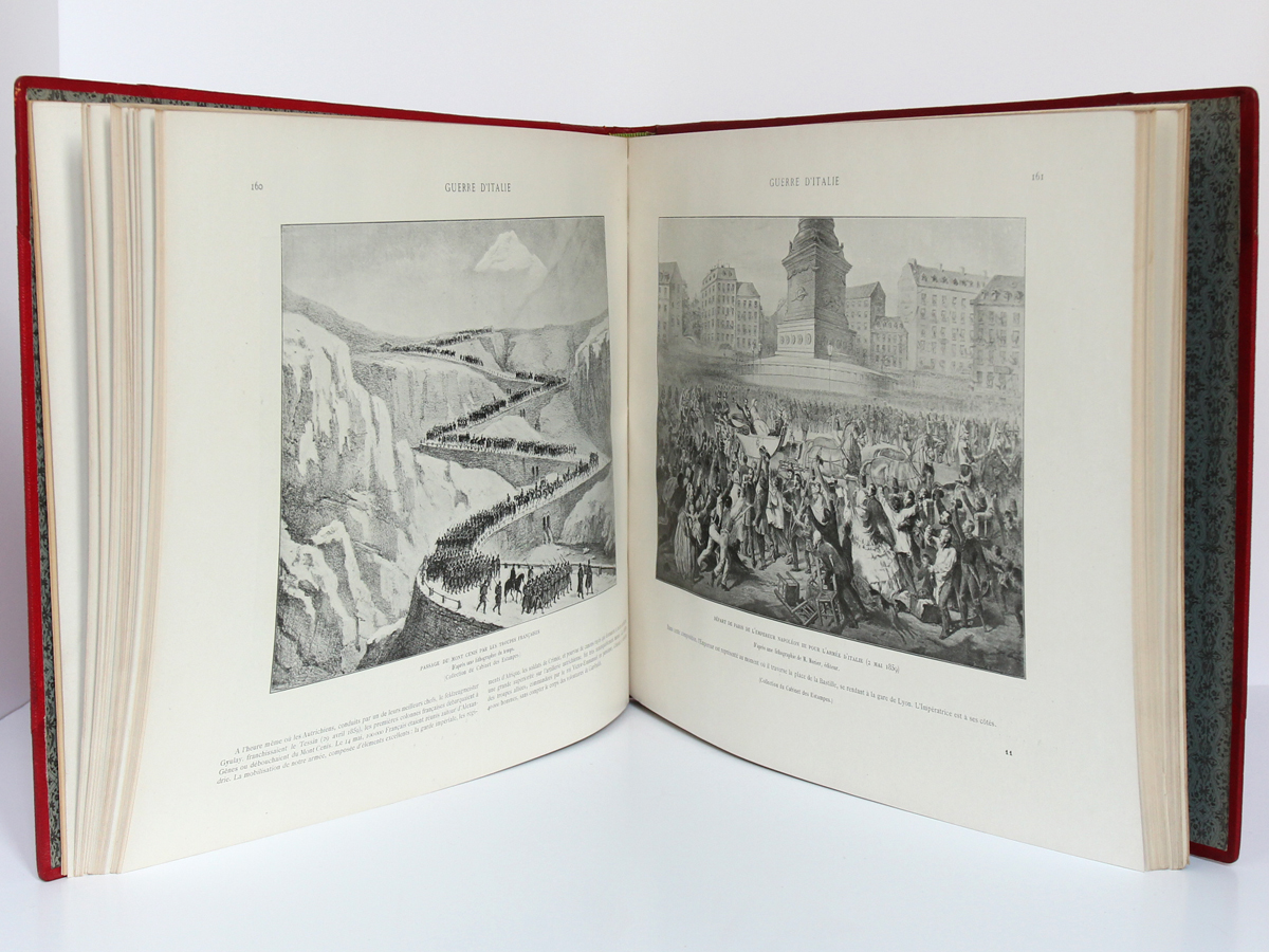 Le Second Empire (1851-1870), Armand Dayot. Flammarion, sans date. Pages intérieures 1.