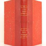 Maria Chapdelaine, Louis HÉMON. Illustrations de Eugène CORNEAU. Rombaldi Éditeur, 1939. Reliure : dos et plats.