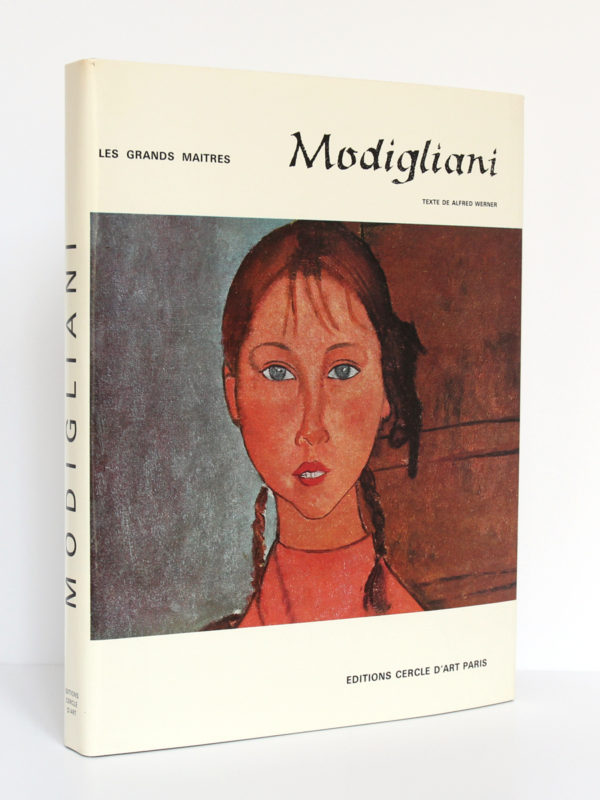 Amadeo Modigliani, Alfred WERNER. Éditions Cercle d'Art, 1968. Couverture.