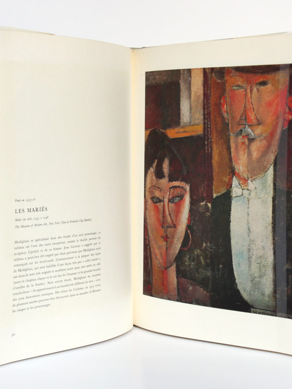 Amadeo Modigliani, Alfred WERNER. Éditions Cercle d'Art, 1968. Pages intérieures 2.