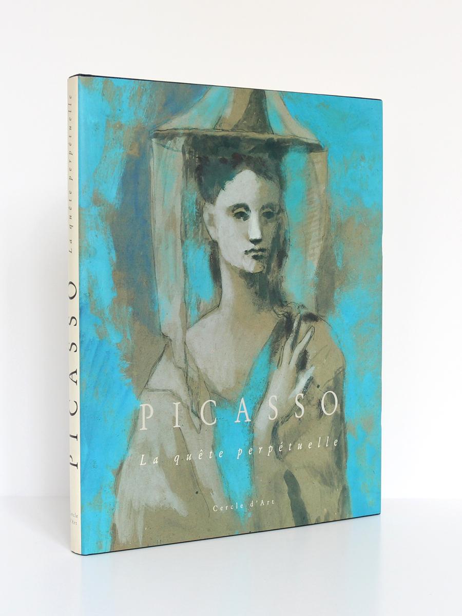 Picasso La quête perpétuelle, Anatoli PODOKSIK. Éditions Cercle d'Art, 1989. Couverture.