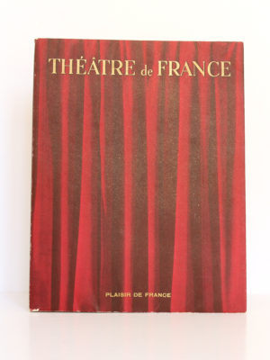 Théâtre de France I. Les Publications de France, 1951. Couverture.