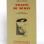 Traité du burin, Albert FLOCON. Illustré par l'auteur. Clancier-Guenaud, 1982. Couverture.