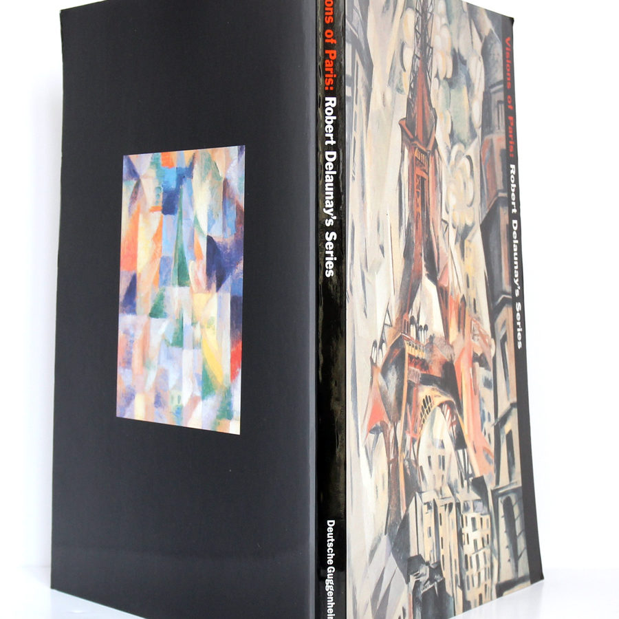 Visions of Paris : Robert Delaunay's Series. Catalogue de l'exposition au Deutsche Guggenheim à Berlin en 1997. Couverture : dos et plats.