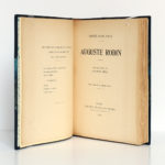 Auguste Rodin, Rainer-Maria RILKE. Éditions Émile-Paul Frères, 1928. Page-titre.
