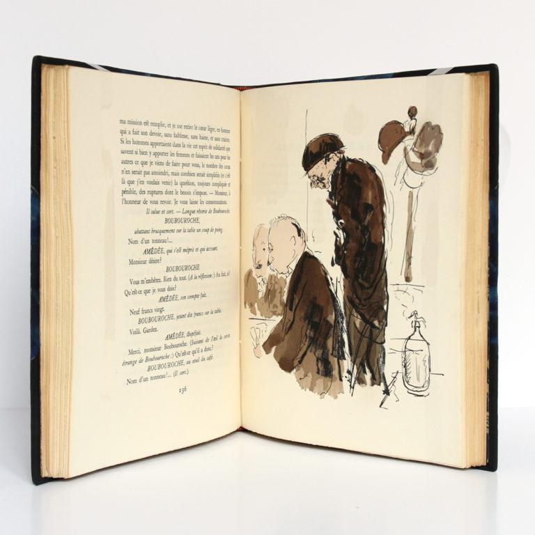 Boubouroche, Philosophie, Georges COURTELINE. Illustré par DUNOYER DE SEGONZAC. Librairie de France, 1931. Pages intérieures 2.