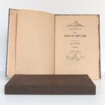 La Fille aux yeux d'or, Honoré de BALZAC. Pointes sèches de Jean SERRIÈRE. Éditions Rombaldi, 1942. Page titre.