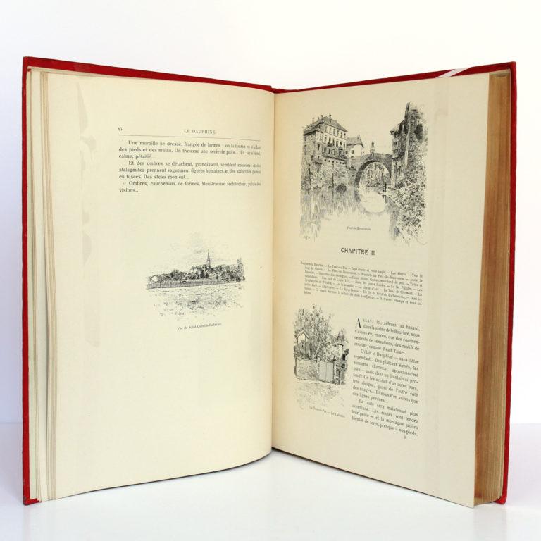Le Dauphiné, Gaston DONNET. Éditions d'art L.-H. May, sans date [1900]. Pages intérieures 1.