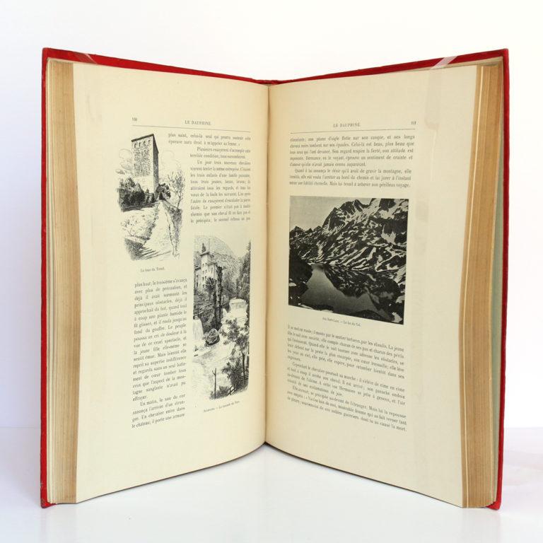 Le Dauphiné, Gaston DONNET. Éditions d'art L.-H. May, sans date [1900]. Pages intérieures 2.