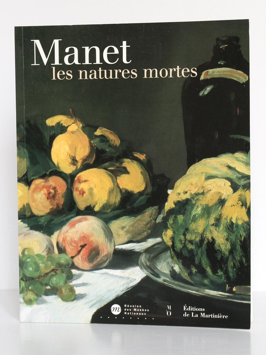 Manet les natures mortes. Catalogue de l'exposition au musée d'Orsay, à Paris, en 2000. Couverture.