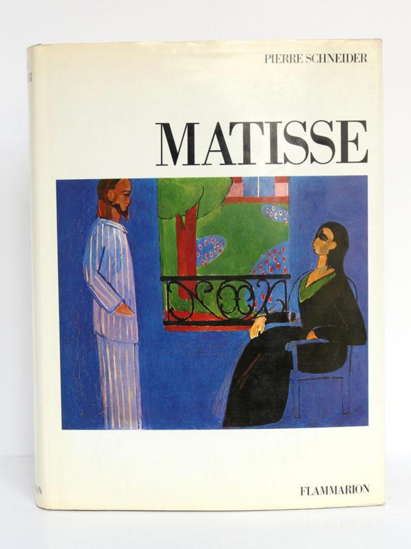 Matisse, Pierre SCHNEIDER. Flammarion, 1984. Couverture.