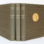 Mémoires de guerre, Charles de Gaulle. Librairie Plon, 1963. 3 tomes. Reliures : dos et plats.
