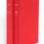 Œuvre poétique, Arthur RIMBAUD. Illustrations de BRÉHAT. 2 volumes. Roissard, 1971-1972. Les 2 volumes dans leur étui.