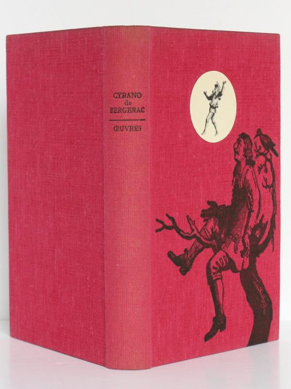 Œuvres, CYRANO DE BERGERAC. Le club français du livre, 1957. Couverture : dos et plats.