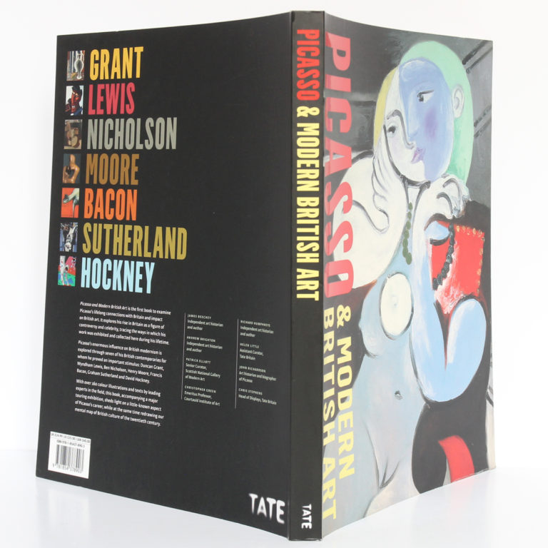 Picasso & Modern British Art. Catalogue de l'exposition à la Tate Britain de Londres en 2012. Couverture : dos et plats.