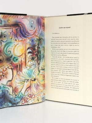 Poèmes illustrés par Mario MERCIER, RIMBAUD. Éditions Albin Michel / Éditions Hélène Legoût, 1991. Pages intérieures.