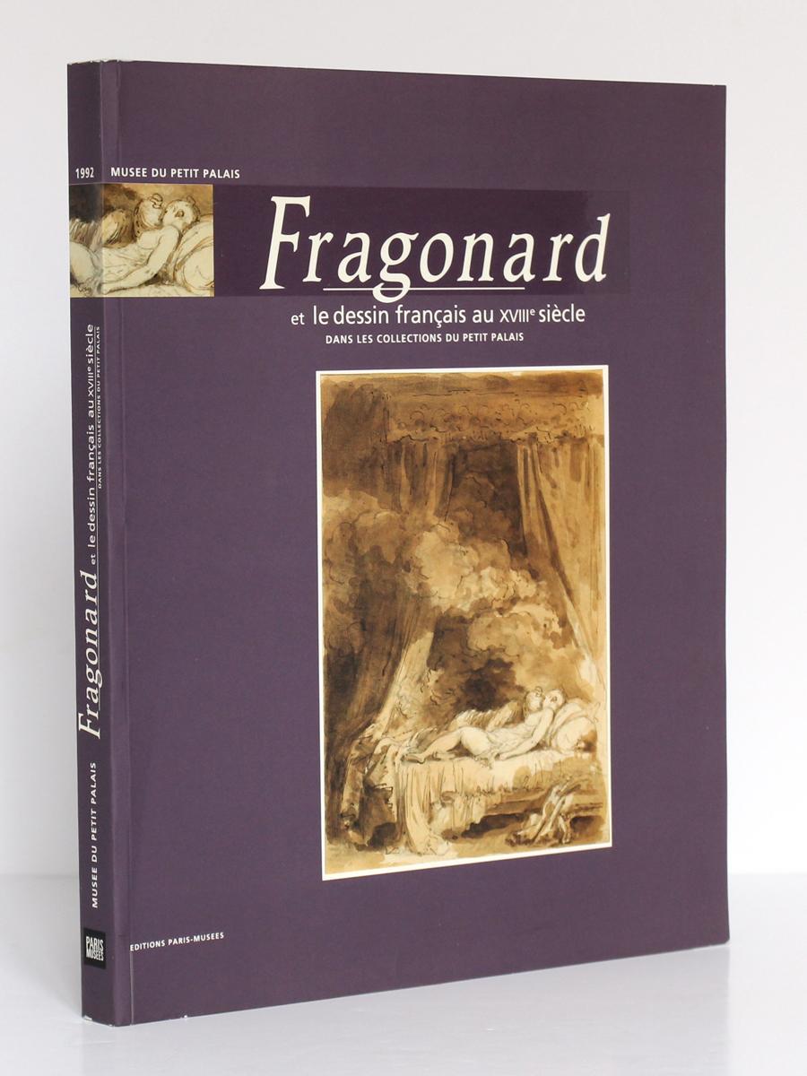Fragonard et le dessin français au XVIIIe siècle. Musée du Petit Palais 1992-1993. Couverture.