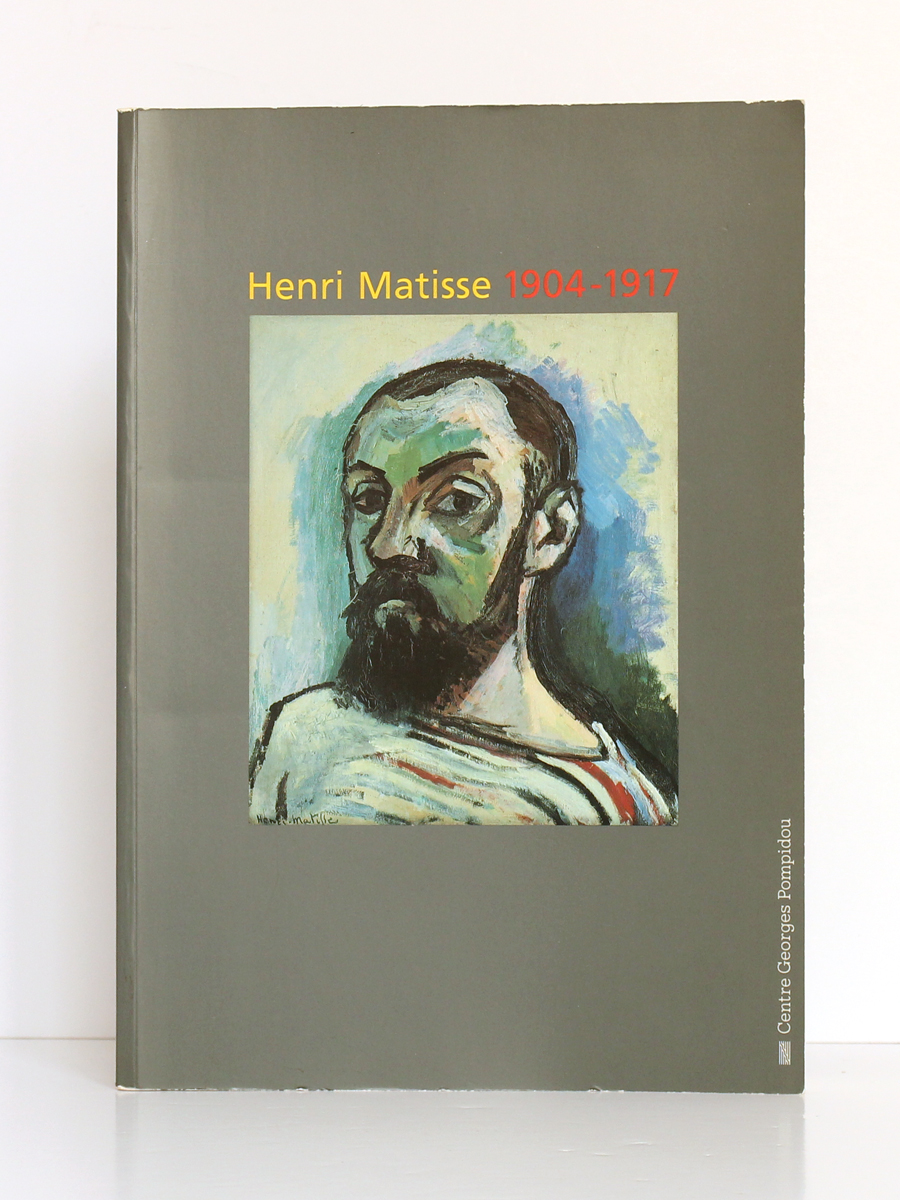 Henri Matisse 1904-1917. Catalogue de l'exposition au Centre Pompidou, à Paris, en 1993. Couverture.
