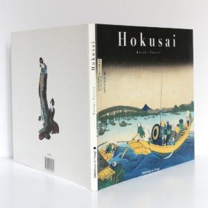 Hokusai, Matthi FORRER. Bibliothèque de l'Image, 1996. Couverture : dos et plats.