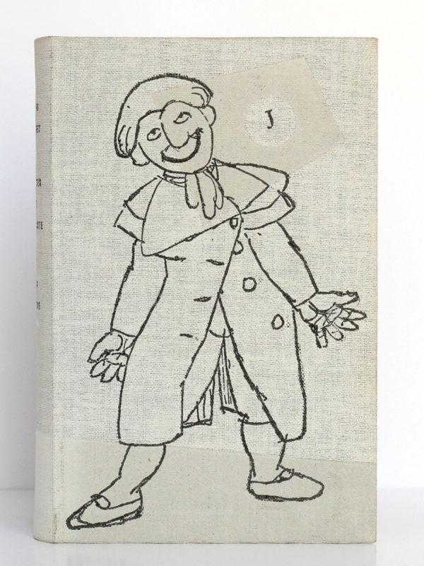 Jacques le fataliste et son maître, Denis DIDEROT. Le club français du livre, 1953. Couverture.