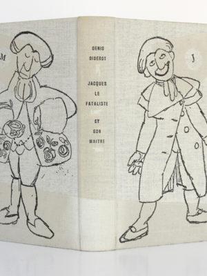 Jacques le fataliste et son maître, Denis DIDEROT. Le club français du livre, 1953. Reliure : dos et plats.