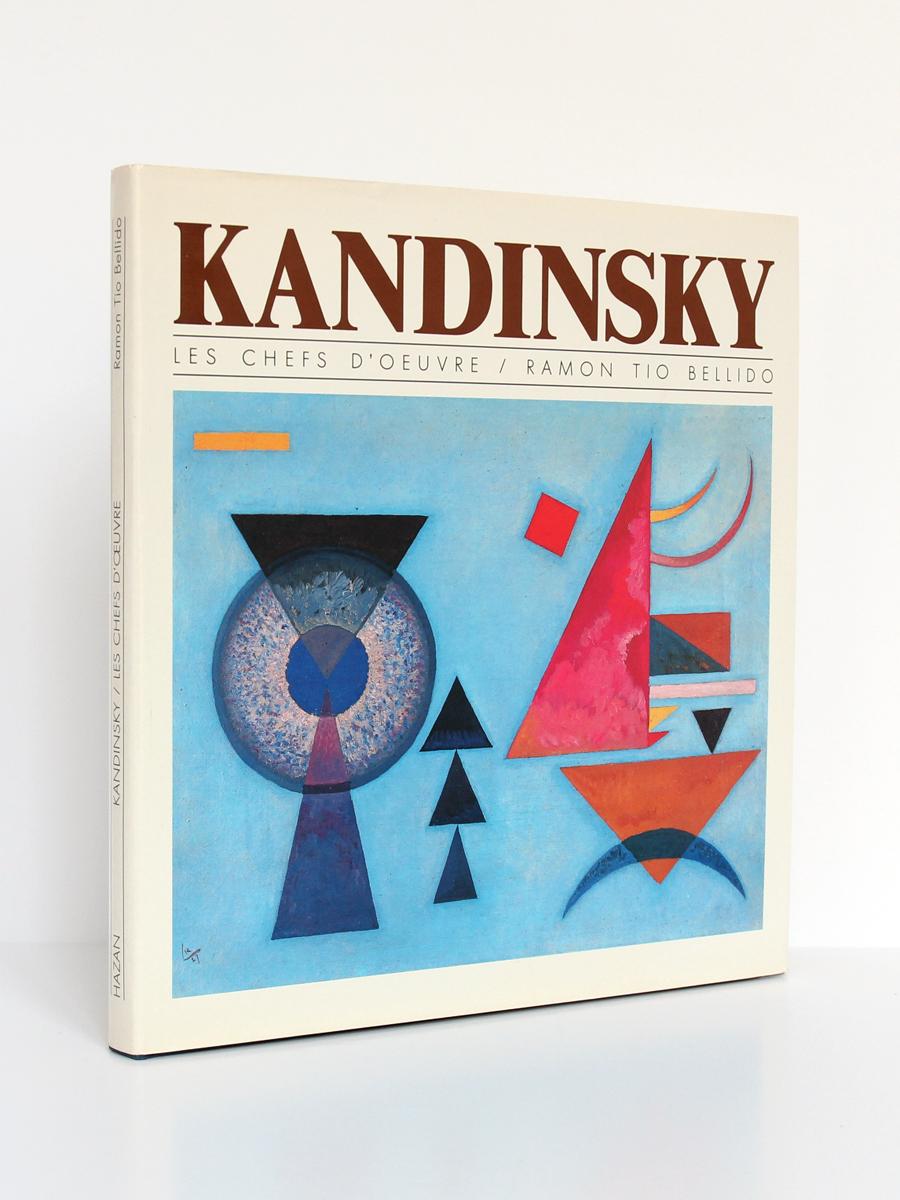 Kandinsky, Ramon TIO BELLIDO. Hazan, 1987. Couverture.