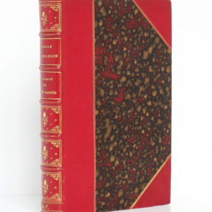 La pluralité des mondes habités, Camille Flammarion. Didier et Cie, 1880. Reliure.
