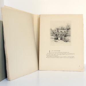 Le Grand Meaulnes, ALAIN-FOURNIER. Eaux-fortes de Jean FRÉLAUT. Éditions Émile-Paul Frères, 1946. Pages intérieures 1.