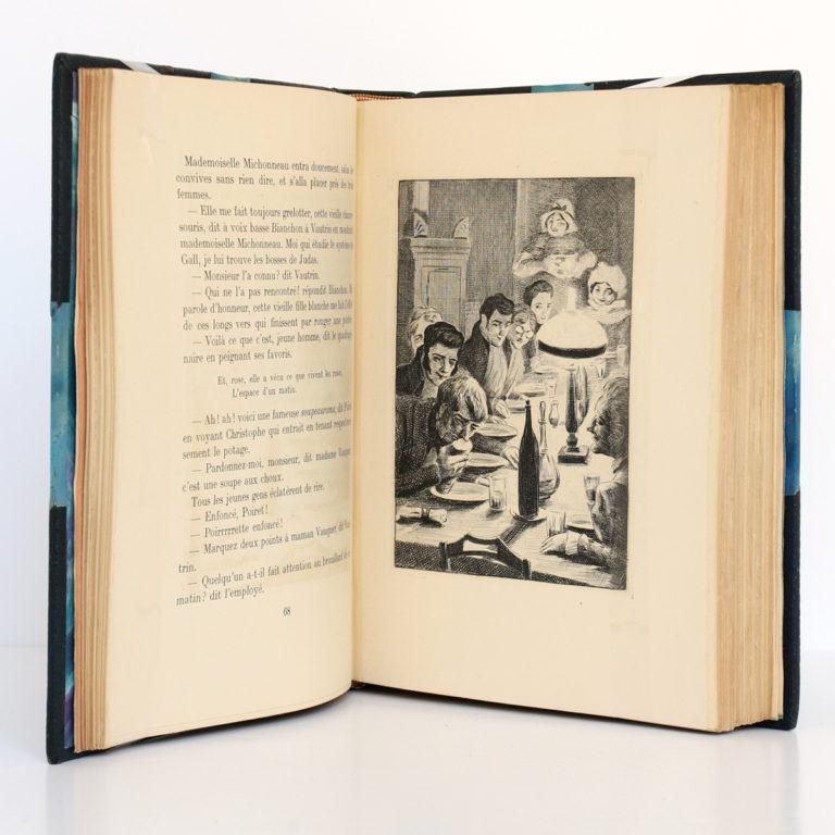 Le Père Goriot, Honoré de BALZAC. Gravures de COSYNS. Éditions Mornay, 1933. Pages intérieures 1.