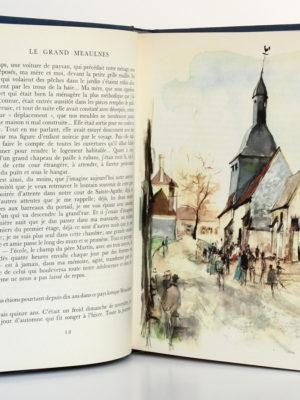 Le grand Meaulnes, ALAIN-FOURNIER. Illustrations de Paul DURAND. Flammarion, 1962. Pages intérieures.