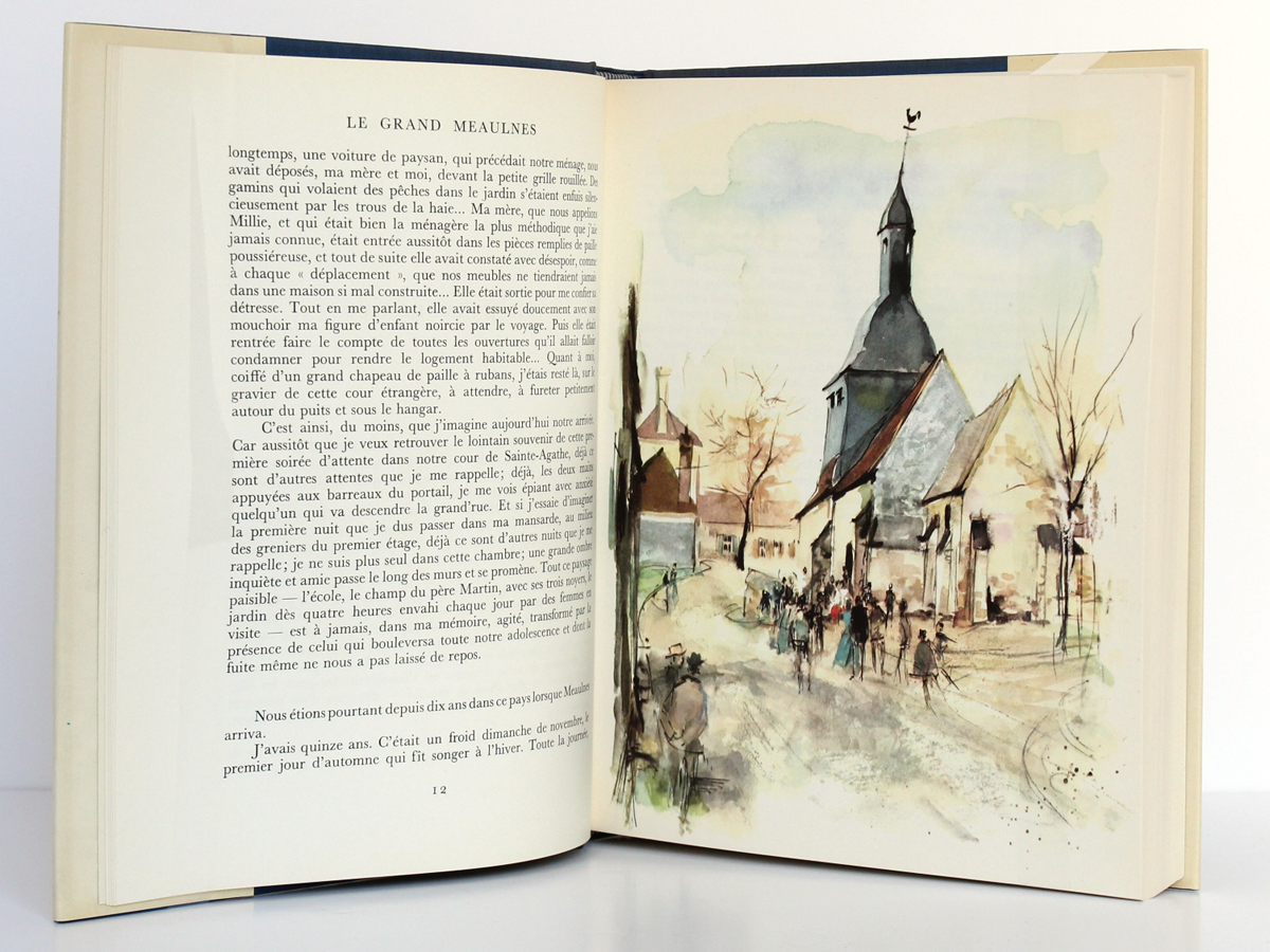 Le grand Meaulnes, ALAIN-FOURNIER. Illustrations de Paul DURAND. Flammarion, 1962. Pages intérieures.
