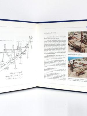 Les boutres de Djibouti, Henri PERRIER. Djibouti, Imprimerie nationale. Pages intérieures.