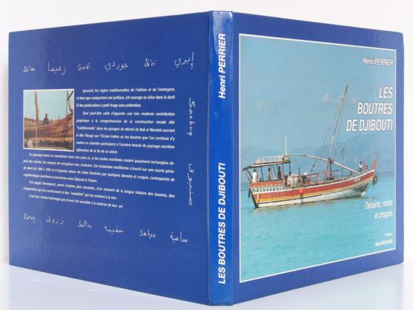 Les boutres de Djibouti, Henri PERRIER. Djibouti, Imprimerie nationale. Couverture : dos et plats.