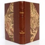 La Vagabonde, COLETTE. Gravures de RENEFER. Hachette, 1928. Reliure : dos et plats.
