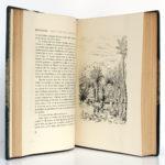 Au Soleil - La Vie errante, Guy de Maupassant. Illustrations de VERGÉ-SARRAT. Librairie de France, 1935. Pages intérieures 2.