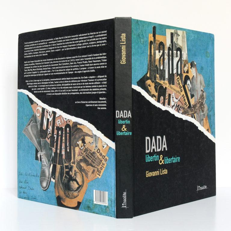 Dada libertin & libertaire, Giovanni LISTA. L'insolite, 2005. Couverture : dos et plats.